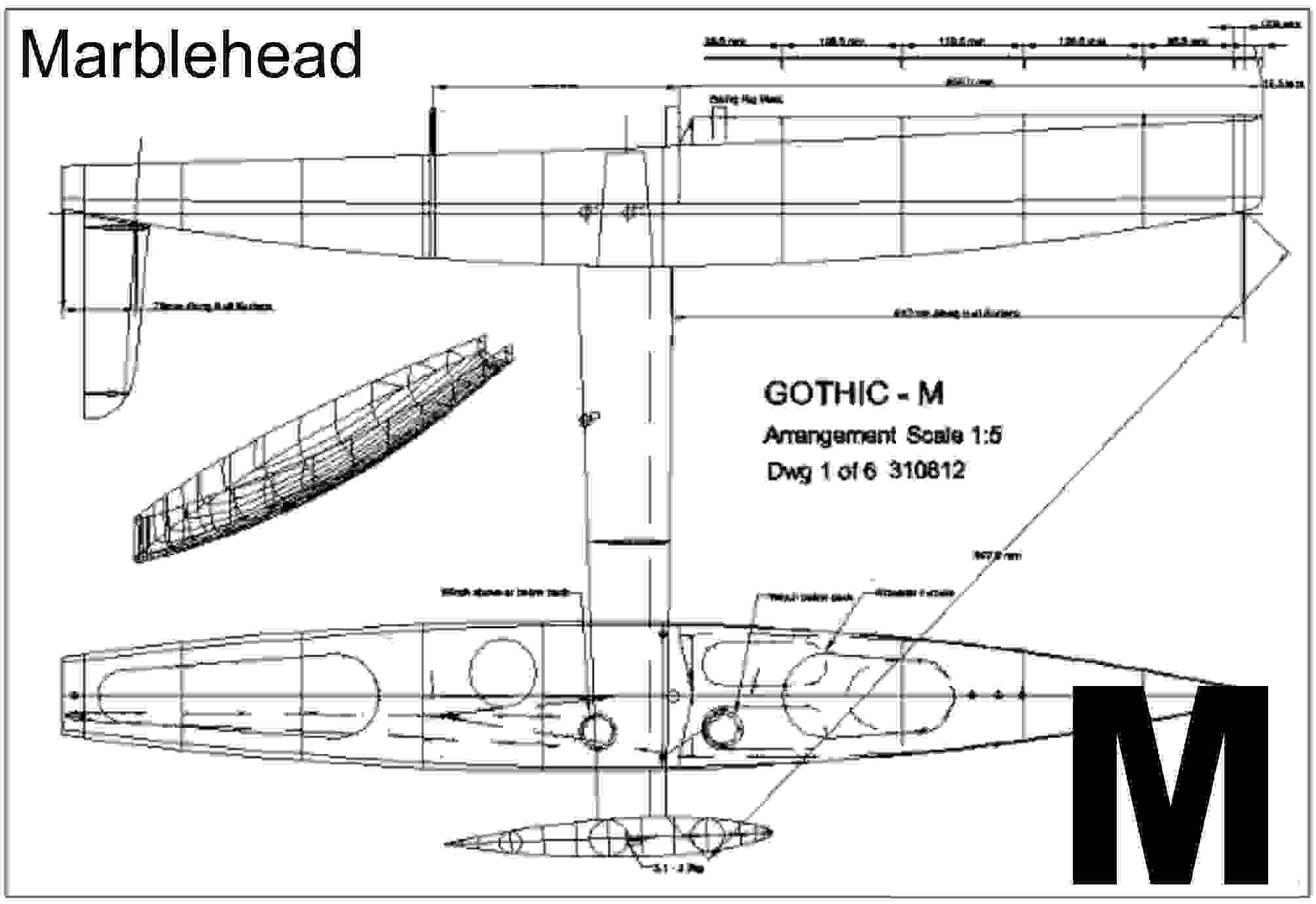 FP3 FREE PLANS for Marblehead - See details for weblinks ...