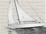 17 inch sloop sailboat kit