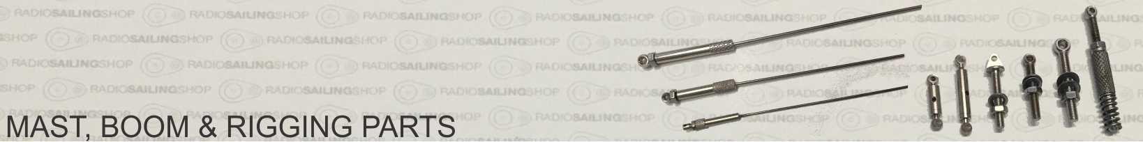 MAST, BOOM & RIGGING PARTS : Radio Sailing Shop