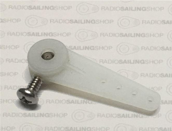 MODEL BOAT DOUBLE TILLER ARM TO SUIT 3mm 4mm /& 5mm RUDDER POST